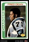 1978 Topps #217 Fred Dean Chargers EX/MT $7.75 USD