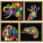 DIY 5D Dog Diamond Embroidery Painting Cross Stitch Colorful Mosaic Home Decor