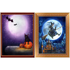 5D Diamond Painting Horror Halloween Moon Cross Stitch Embroidery DIY Craft Gift