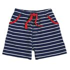 Mud Pie E7 Summer Baby Toddler Boy Striped Pull-On Cotton Shorts 1072120