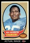 1970 Topps #206 Russ Washington Chargers EX $1.75 USD