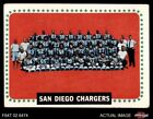 1964 Topps #175 San Diego Chargers Team VG/EX $5.0 USD on eBay