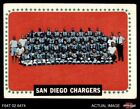 1964 Topps #175 San Diego Chargers Team Chargers VG/EX $6.75 USD