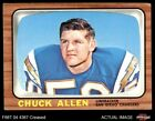 1966 Topps #118 Chuck Allen Chargers VG $3.25 USD on eBay