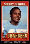 1971 Topps #148 Speedy Duncan Chargers Jackson St 7 - NM $6.25 USD on eBay