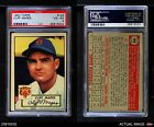 1952 Topps #103 Cliff Mapes -  Tigers PSA 4 - VG/EX