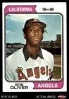 1974 Topps #243 Bob Oliver Angels NM