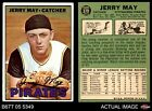 1967 Topps #379 Jerry May Pirates VG EX