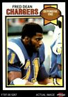 1979 Topps #152 Fred Dean Chargers NM/MT $10.5 USD on eBay