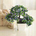 Artificial Flower Plant Potted Bonsai Fake Flower Plant Pine Trees for Wedding