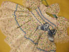DREAM BABY GIRLS FLOWERS & BUTTERFLY PRINT DRESS & HBD NB 0-3 3-6 OR REBORN