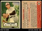 1952 Topps #174 Clarence Marshall Cream Back Browns VG
