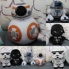 "8"" Star Wars Force Awakens Soft Plush Toy Darth Vader BB8 Stormtrooper NEW Gift $6.59 AUD"