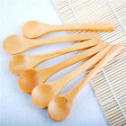 SMALL BAMBOO WOODEN SPOONS EQUIPMENT KITCHENWARE LAP SPICE SPOON BEAUTY SPA SALT New