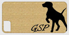 (GSP) German Shorthaired Pointer mobile phone case - optional personalisation