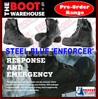 Steel Blue, 320250 ENFORCER. Soft Toe Boot. Police. Security. Emergency Services