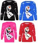 Ladies New Long Sleeves Christmas Unisex Sweater Retro Novelty Vinatage Jumper F