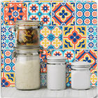 Spanish Portuguese Moroccan Style Tile Transfer Stickers Decals Vintage Kitchen