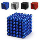 3mm/5mm 216pcs Magnet Ball Magic Beads 3D Puzzle Ball Sphere Magnetic Kids Toys
