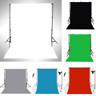 3x5FT Thin Vinyl Photography Backdrops Photo Studio Props Background Solid Color
