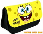 spongebob squarepants Personalised Pencil Case / Make up bag
