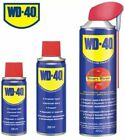 WD40 100ml, 200, 400 ml Aerosol Cleans Spray Lubrication Care Lubricant Car UK