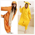 Unisex Pokemon Pikachu Onesiee Kigurumi Fancy Dress Costume Hoodies Pajamas Gift