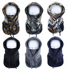 Cold Weather Warm Fleece Balaclava Hood Windproof Snowboard Ski Full Face Mask