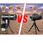 10-30x Zoom Telephoto Telescope Optical Monocular Camera Lens Review and Comparison