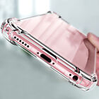 For iPhone 7/8 Plus/X Case Slim Shockproof Clear Soft Silicone TPU Crystal Cover