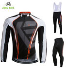 Mens Bicycle Clothing Cycling Jersey & Bib Pants Sets Cycling Bib Pants Kits