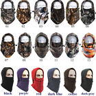 Windproof Fleece Neck Warmer Balaclava Ski Face Mask for Extreme Cold Weather