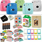 Fujifilm Instax Mini 9 Instant Camera + 20pck Film + Album, Stickers, Frames...