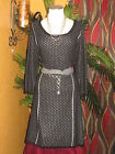 LANE BRYANT NWT $90 black and silver sweater women's dress 18/20