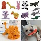 NEW Lovely Puppy Dog Pet Chew Toy Cotton Braided Rope Color Pet Chew Knot LJ