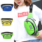 Bum Bag Fanny Pack Pouch Travel Festival Waist Belt Nylon Holiday Money Wallet