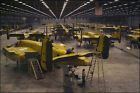 Poster, Many Sizes; Assembling B-25 Bombers At North Amer...