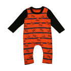 Newborn Kids Baby Girls Boys The first Halloween Party Rompers Bodysuit Clothing
