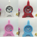 Eiffel Tower Shaped Alarm Clock Colorful Tower Shaped Clock Battery not Included