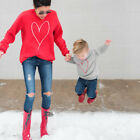 Family Look Mother and Son Leisure Clothes Matching Warm Sweater Jumper Outfits