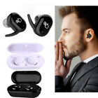 TWS Wireless Bluetooth Twin Earbuds Earphones Stereo Headset for iPhone Samsung
