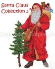 SANTA CLAUS COLLECTION 3 - MACHINE EMBROIDERY DESIGNS ON CD