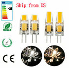 G4 LED 12V AC/DC COB Light 3W 6W High Quality LED G4 COB Lamp Bulb Dimmable US