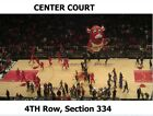 2 or 4 Chicago Bulls v Philadelphia Tickets 12/18/17 CENTER COURT 4th Row