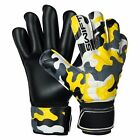 Swift Wears Goalkeeper Flat Roll Finger Saver Goalie Gloves Size 8/9/10