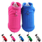 Dog Vest Clothes Puppy T-Shirt Soft Polar Fleece Pet Coat Costumes Apparel S-XL