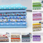 7Pcs 25cm*25cm Assorted Floral Cotton Fabric Cloth For DIY Crafts Sewing Charm