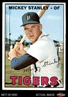 1967 Topps 607 Mickey Stanley Tigers VG EX