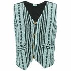 Waistcoat Vest Mens BRUSHED COTTON Hippie Boho SIESTA Suit Men Ladies