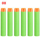 10Pcs Lightweight Colorful 7.2cm Soft Hollow Head Gun Supplies Round Head Toys